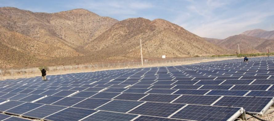 Con parque en El Tambo se fomentará el potencial fotovoltaico de la región en 2013