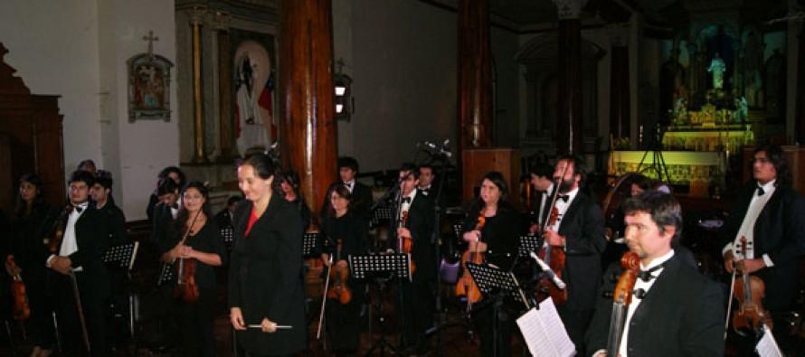 Orquesta Sinfónica de la Universidad de La Serena comenzará temporada de conciertos en Vicuña