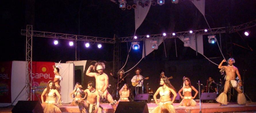 Carnaval elquino continúa con encuentro folclórico con agrupaciones de todo el país