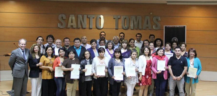 Docentes de Vicuña se capacitaron en liderazgo pedagógico y vida saludable en UST