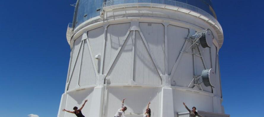 """Proyecto Umbral intervino artísticamente Observatorio Tololo con """"Enlace de Sueños"""""""