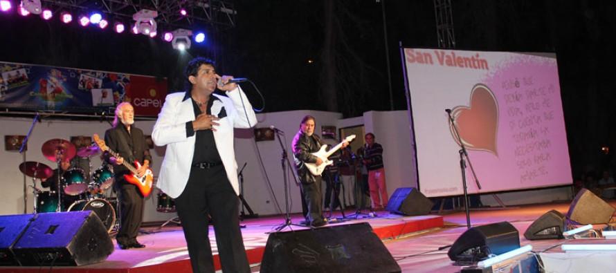 """Los Iracundos deleitaron al público elquino en la """"Fiesta de los Enamorados"""" en Vicuña"""