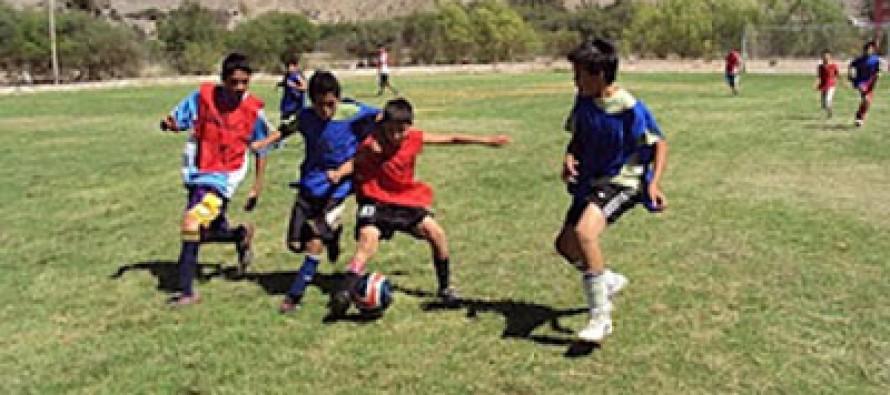 Jóvenes futbolistas elquinos mostrarán su talento en prueba de la Universidad de Chile
