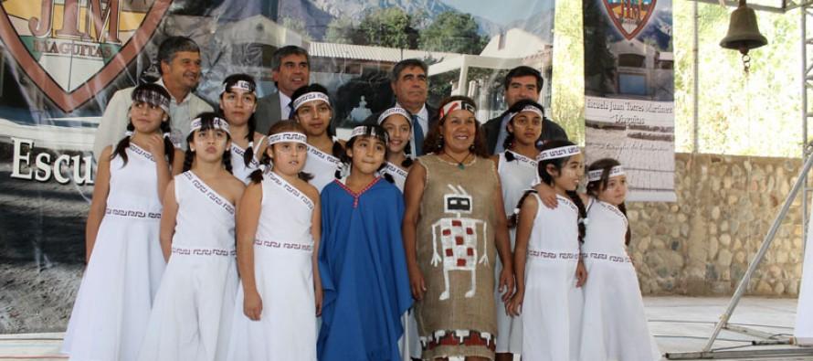 Reconocen a escuela de Diaguitas como intercultural en inicio provincial de año escolar