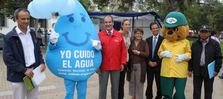 """Relanzan campaña """"Yo Cuido el Agua"""" en la región de Coquimbo"""