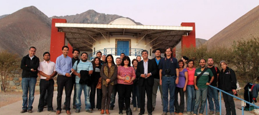 Astrónomos del Tololo capacitan e instruyen a guías del Observatorio Cerro Mamalluca