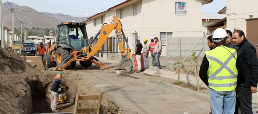 En una semana concluirán trabajos en calle que sufrió hundimiento de su pavimento