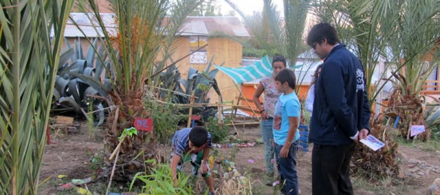 Niños de Pisco Elqui cuentan con nuevo centro de educación ambiental