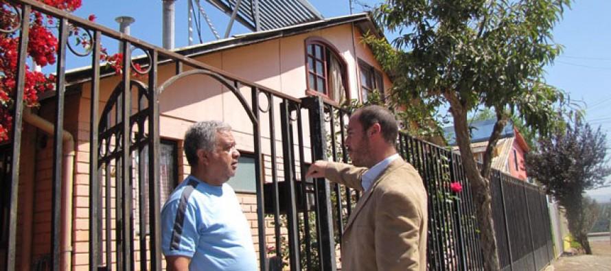 Proyectan a Vicuña y Paihuano para desarrollar proyectos de energía solar en los hogares