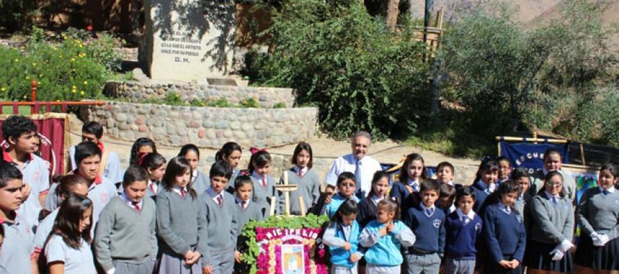 Paihuano recordó natalicio de Mistral con anuncio de reapertura del correo del museo de sitio