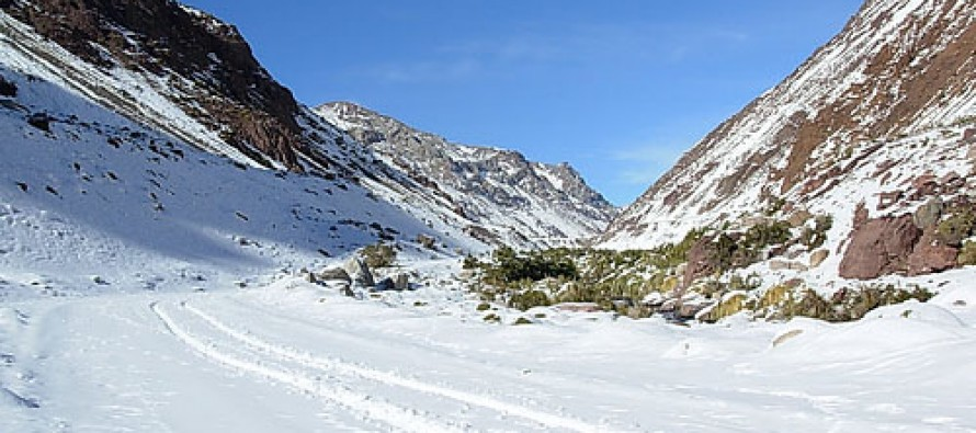 Paso internacional Agua Negra se encuentra cerrado por intensas nevazones