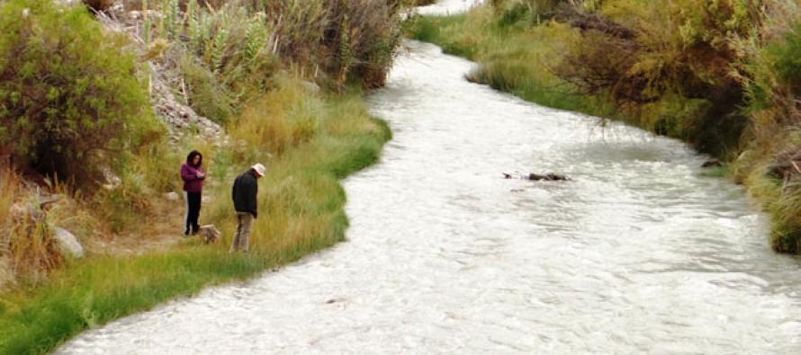 Aplican un plan piloto para evaluar el estado del Río Elqui
