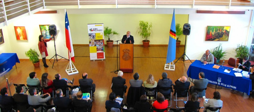 Oficializan vicepresidencia nacional de los municipios turísticos para Vicuña