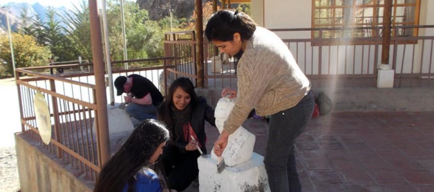 Alumnos de Santo Tomás realizaron operativo social en Montegrande, Quebrada de Pinto y Cochiguaz