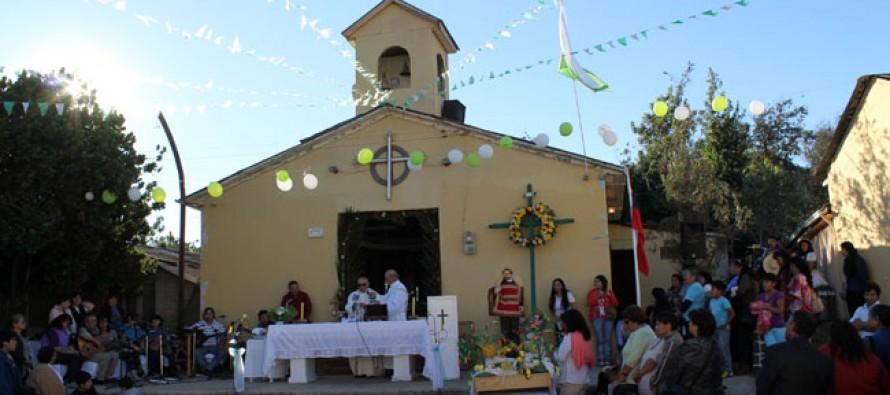 Vecinos de Hierro Viejo finalizan las celebraciones de la tradicional fiesta de la Cruz de Mayo
