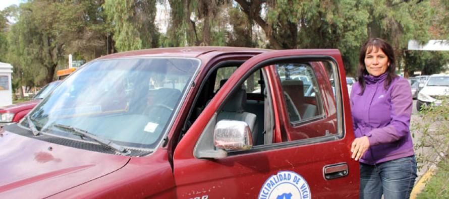 Destacan profesionalismo de conductora en la labor municipal