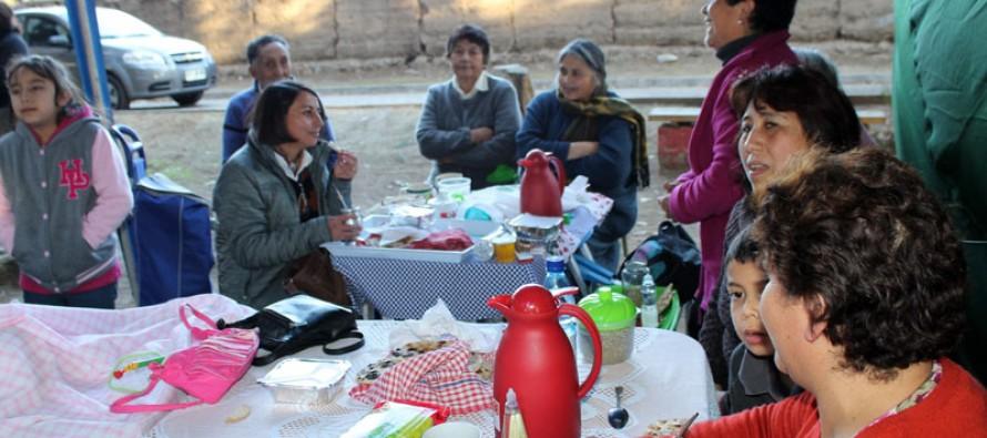 """Con una """"Mateada"""" en El Tambo se lanzó el programa Servicio País en la comuna"""