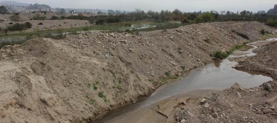 Dan a conocer nueva ordenanza sobre extracción de áridos del Río Elqui