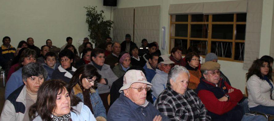 Analizan proyectos junto a vecinos para localidades de El Durazno y Diaguitas
