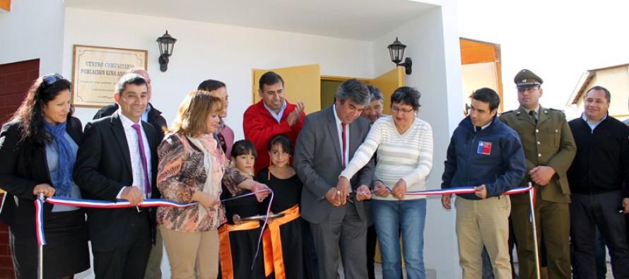Vecinos de la población Gina Ancarola cuentan con nueva sede comunitaria
