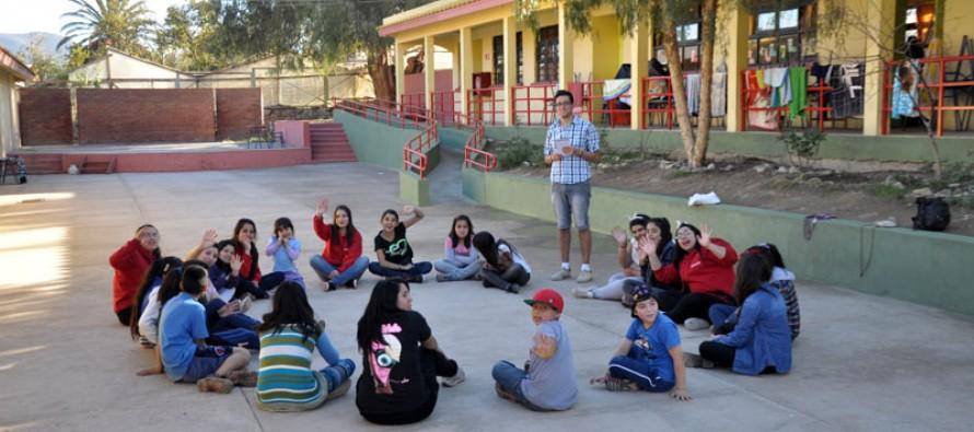 Jóvenes estudiantes del Duoc-UC realizaron trabajos comunitarios en el valle del Elqui