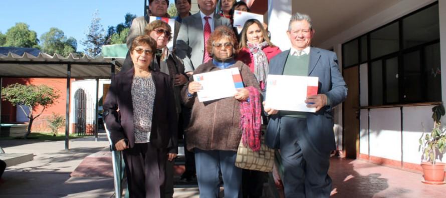 Un total de seis proyectos se adjudicaron los adultos mayores de Vicuña