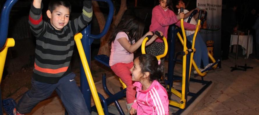 Vecinos de Andacollito cuentan con nuevas maquinarias para incentivar el deporte