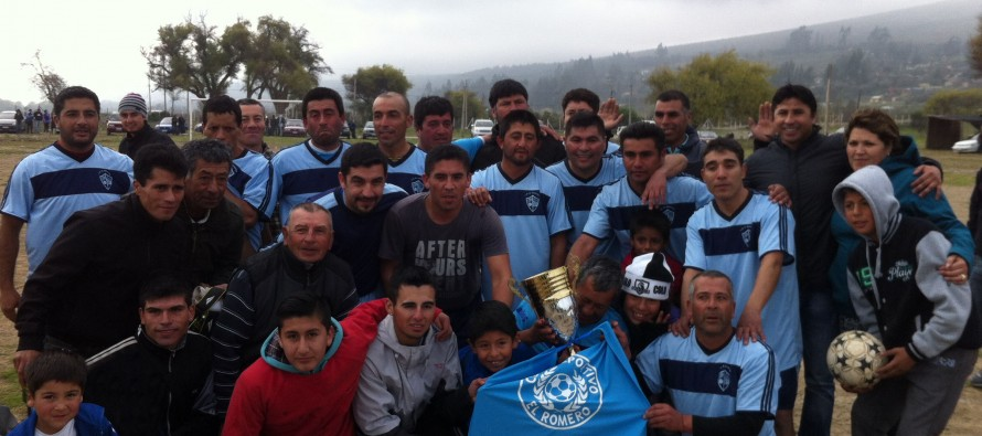 Club Deportivo El Romero sigue sumando copas con el primer lugar de la Liga Senior