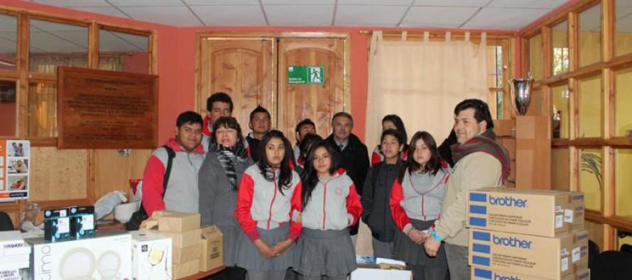 Más de $142 millones se invirtieron en la implementación del Liceo Polivalente de Paihuano