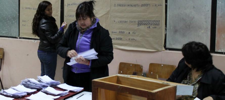 Un total de 930 personas votaron en Paihuano y Bachelet obtuvo un 84,13% de las preferencias