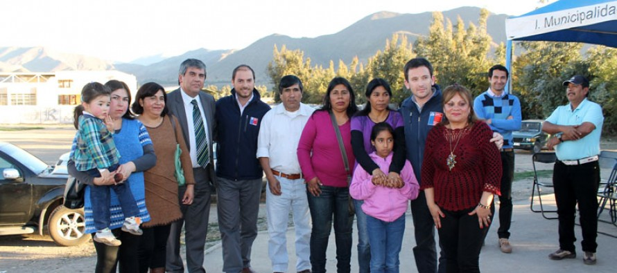 31 familias de Vicuña mejoran sus viviendas dando plusvalía y seguridad a sus barrios