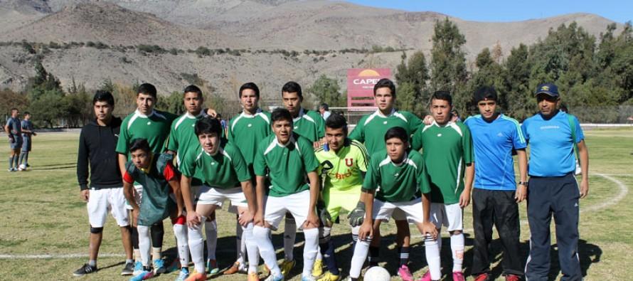 """Tres escuelas de Vicuña participan del torneo de fútbol """"Haciendo Amigos"""""""
