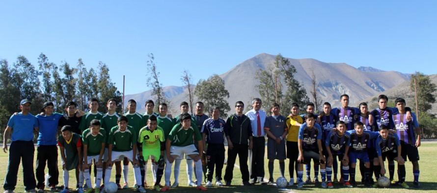 """Más de 200 niños y jóvenes compiten en el torneo """"Haciendo Amigos"""" en Vicuña"""