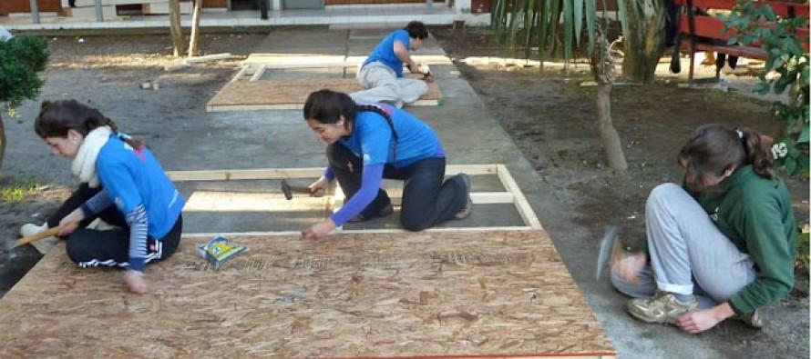 """Jóvenes de """"Trabajo País"""" llegan al valle del Elqui  para reparar espacios comunes"""