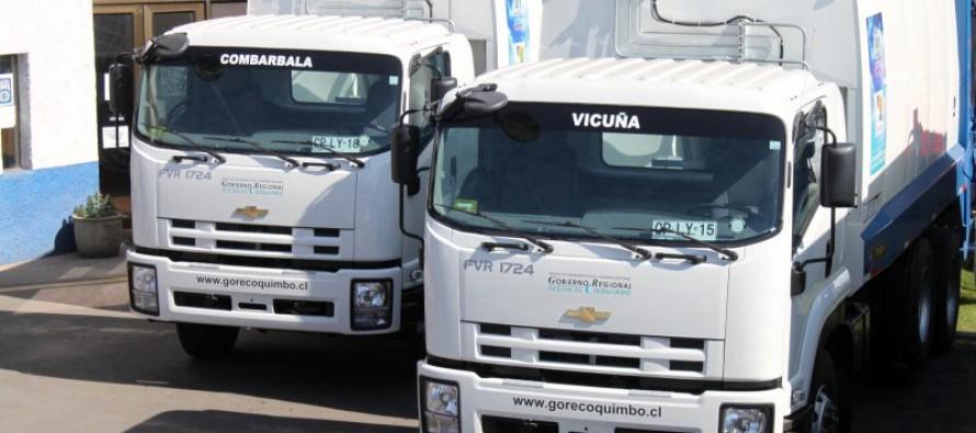 Paihuano cuenta con dos camiones nuevos para la recolección de residuos sólidos
