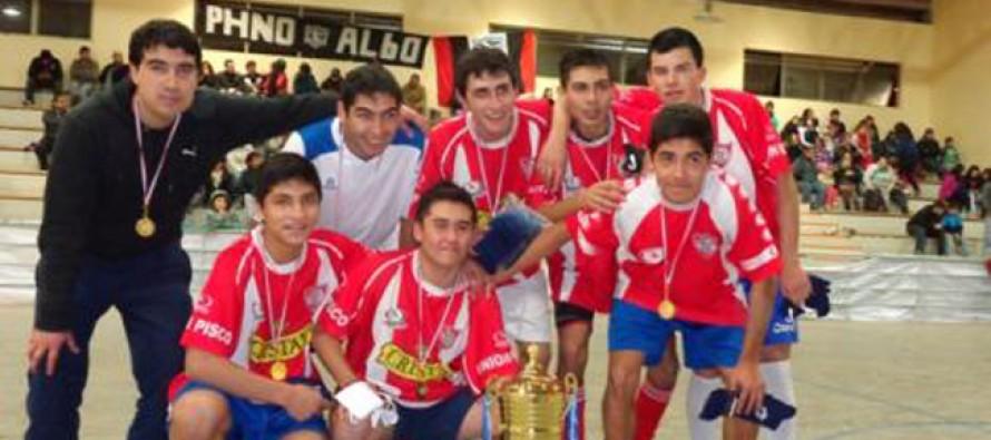 """""""Los Asegurados"""": Frigol 2013  tuvo campeón de Pisco Elqui en el baby fútbol"""