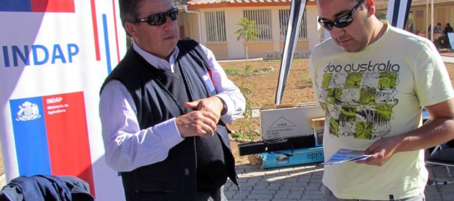 Campesinos elquinos participaron disipando dudas con INDAP en Gobierno en Terreno