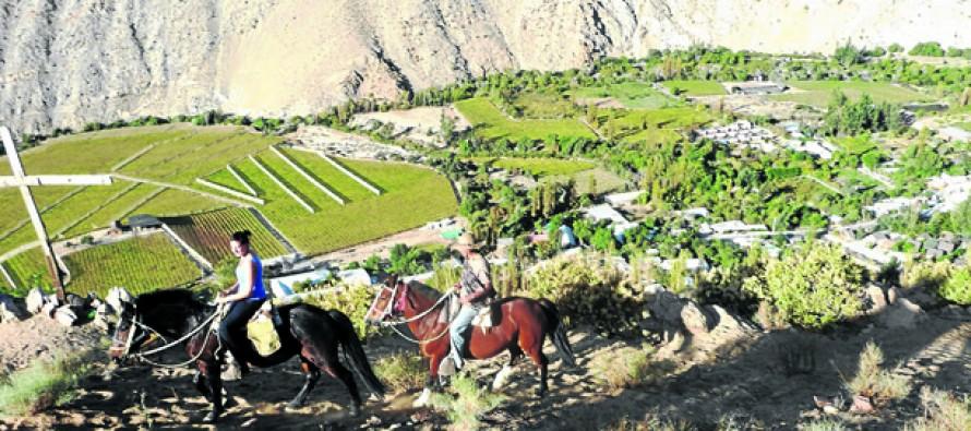 Valle del Elqui se convirtió una de las zonas más visitadas durante este fin de semana largo