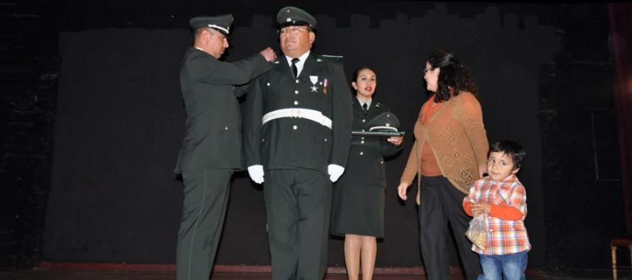 Con nuevos desafíos para los gendarmes realizan ascensos en unidad penal de Vicuña