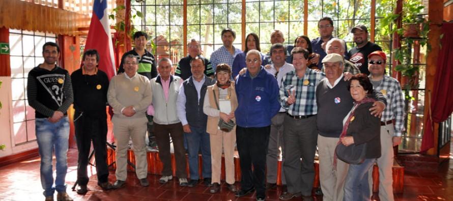 Conforman comando comunal para trabajar por Michelle Bachelet en Vicuña