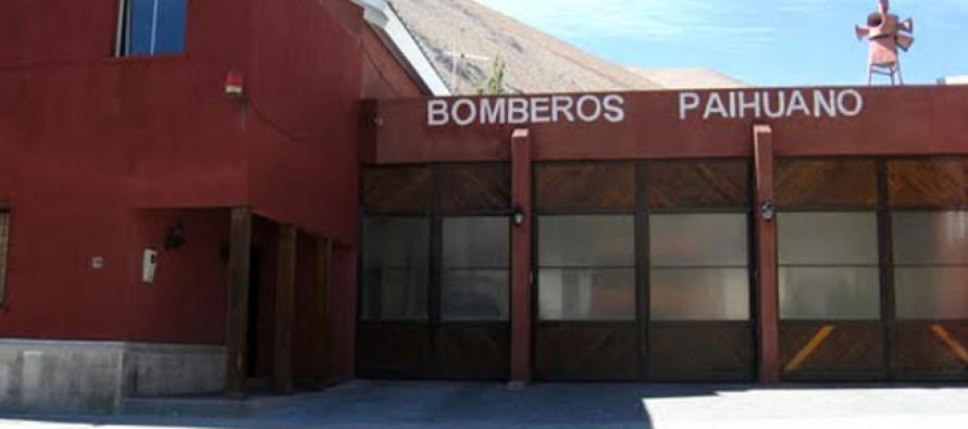 Cuerpo de Bomberos de Paihuano celebra su quinto aniversario con diversas actividades