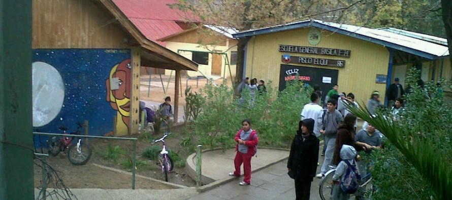 Sólo hasta la comuna de Paihuano llegaron las precipitaciones del sistema frontal frío