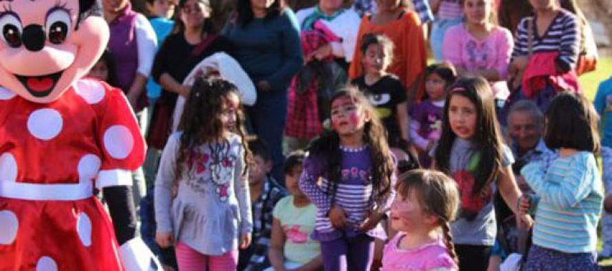 Niños de Paihuano celebran su día con circo y actividades gratuitas en Estadio Municipal