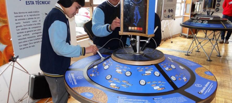 En dependencias del Mineduc está disponible muestra gratuita del Museo Interactivo Mirador
