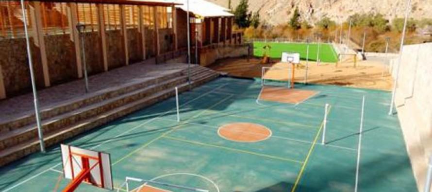 Pronto a inaugurarse están las obras del Complejo Deportivo de Pisco Elqui