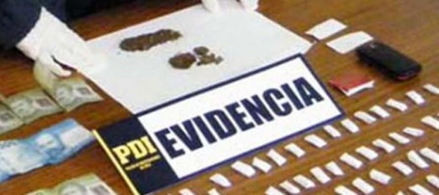 Cuatro detenidos en Vicuña luego de operativo antidrogas de la PDI