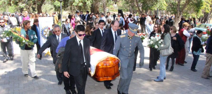 Juan Antonio Aguirre: Vicuña despide a uno de sus hijos ilustres con significativas ceremonias