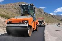 Obras de pavimentación en paso internacional Agua Negra presentan un avance del 15%