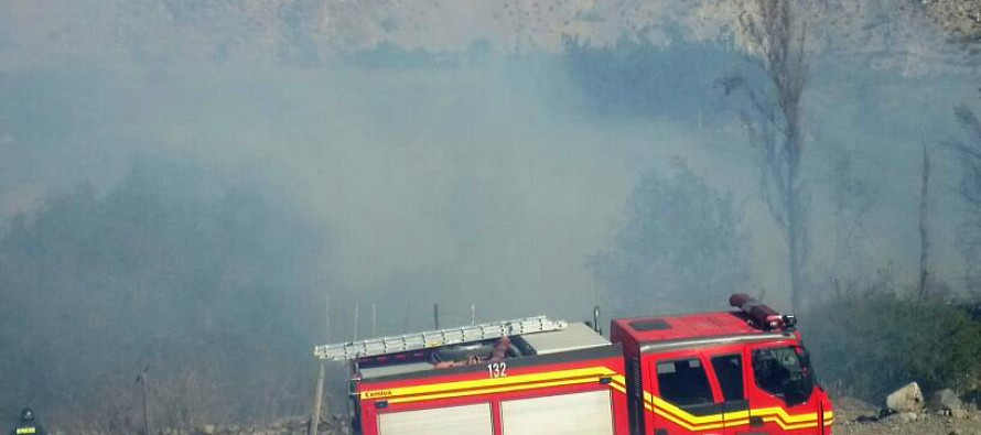Bomberos de Vicuña y Paihuano trabajan arduamente para apagar Incendio en Rivadavia