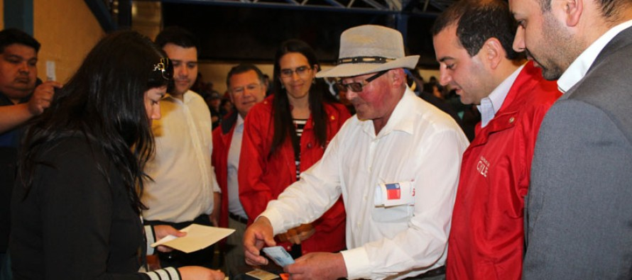 Más de 1.600 personas reciben el Bono Sequía en la comuna de Vicuña